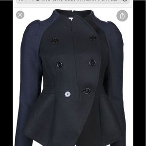 Carven tailored double breasted coat